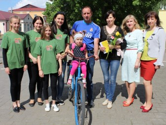 Department of Civil Registry Office of Mostovskiy District Executive Committee held an action on Family Day