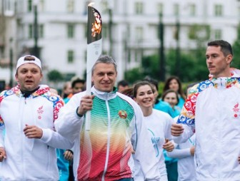 Vienna, Budapest welcome Flame of Peace of Minsk European Games