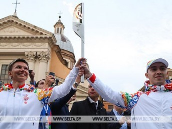 2nd European Games Flame lit in Rome