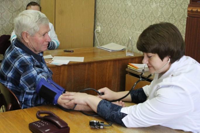 Мостовчане измерили своё артериальное давление и приняли участие в акции