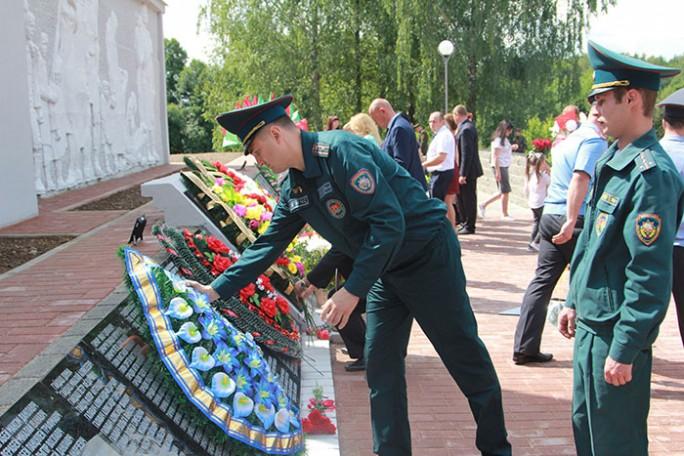Как Мостовщина встретила День освобождения от немецко-фашистских захватчиков