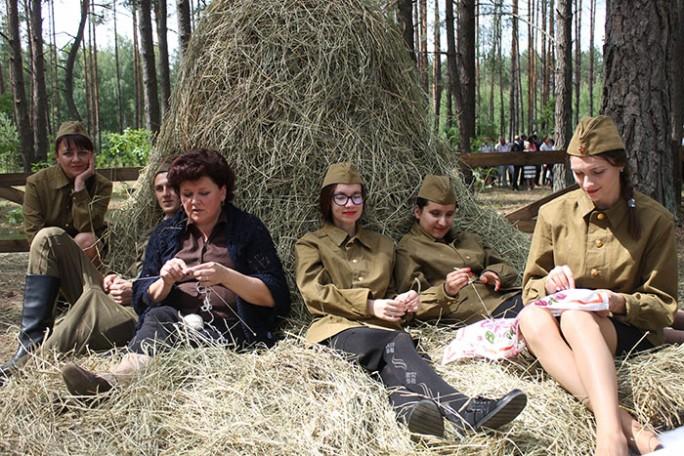 Партизанский лагерь развернулся в Липичанской пуще в День освобождения Мостовщины от немецко-фашистских захватчиков