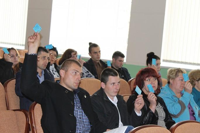 Состоялась отчётно-выборная конференция Мостовской районной организации профсоюза работников АПК