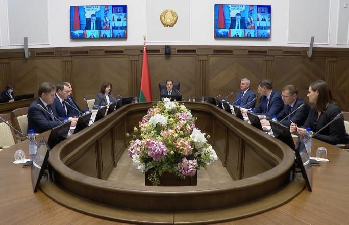 В Совмине состоялось первое заседание оргкомитета по VI Всебелорусскому народному собранию