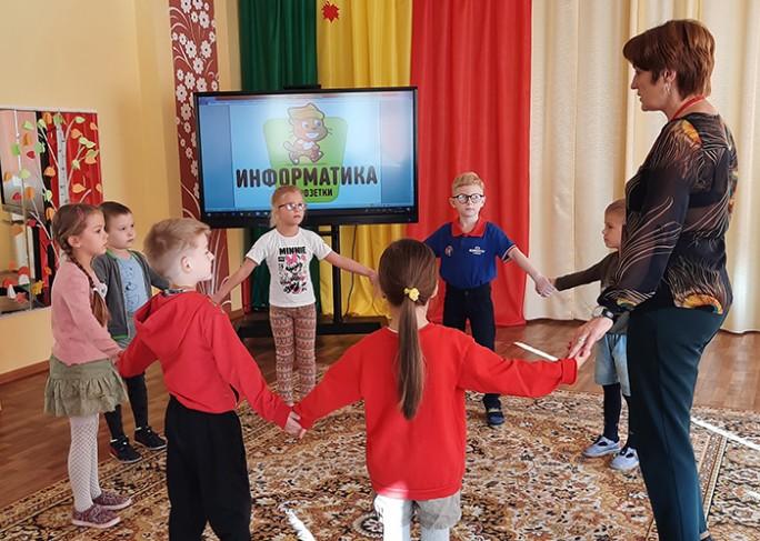 «Информатика без розетки» в дошкольном центре развития ребёнка г. Мосты
